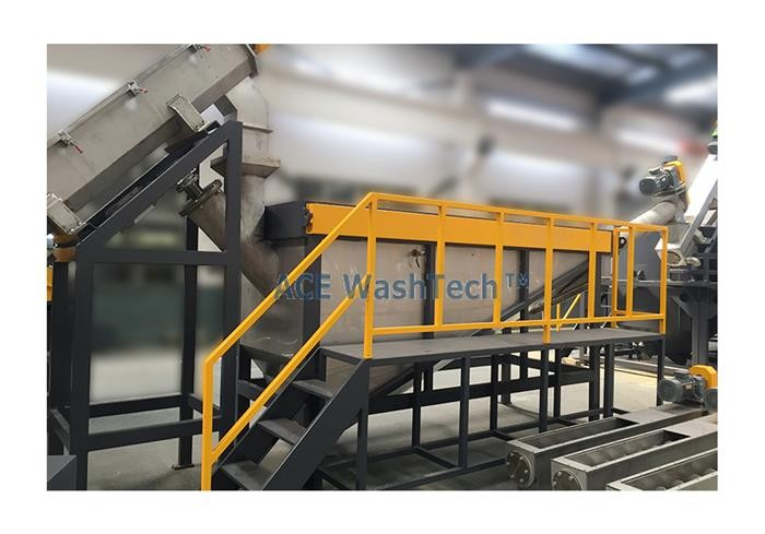 Automatic PET Plastic Recycling Machine