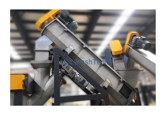 Bottle Machine Recycle For PET Crushing And Washing Line