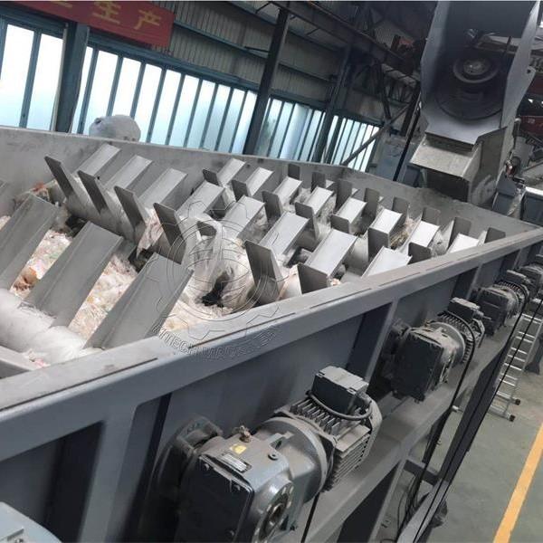 LDW500 PE film washing line