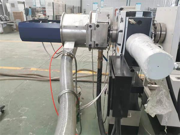 PET flakes recycling system