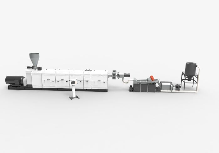 Single screw extrusion system