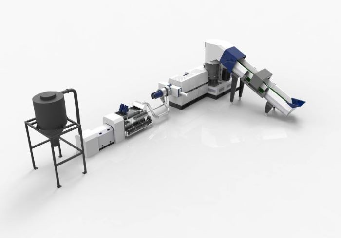 Compacting and pelletizing system