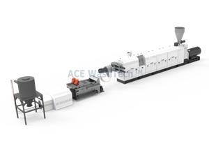 HDPE Şişeler Peletleme Sistemi
