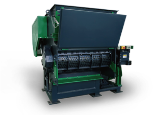 AGS 1200 Tek Şaftlı Parçalama Makinesi