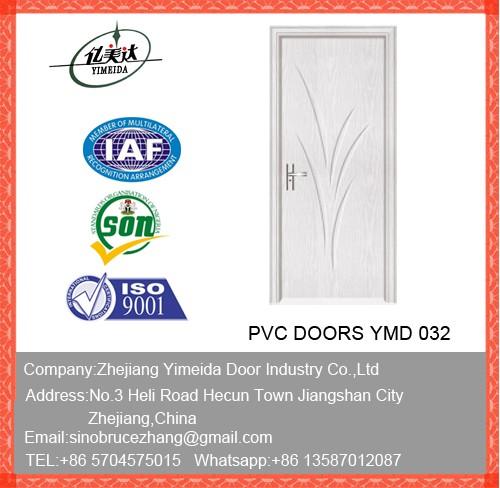 Good Quality Interior Wooden MDF PVC Door