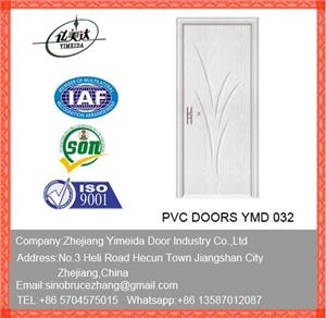 Good Quality Interior Wooden MDF PVC Door