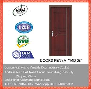 MDF PVC Interior Door For Bedroom