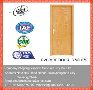 Pvc Decoration Wooden Door