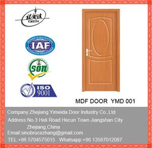 PVC MDF Door With High Qulity And Compective Prices