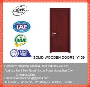 Composite Interior Wooden Door For Construction