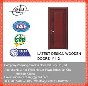 Composite Primed Decoration Wooden Door