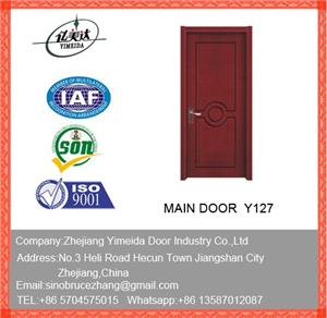 MDF Composite Cherry Interior Wooden Door