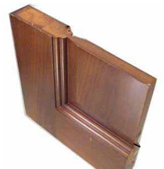 pvc bathroom wooden door