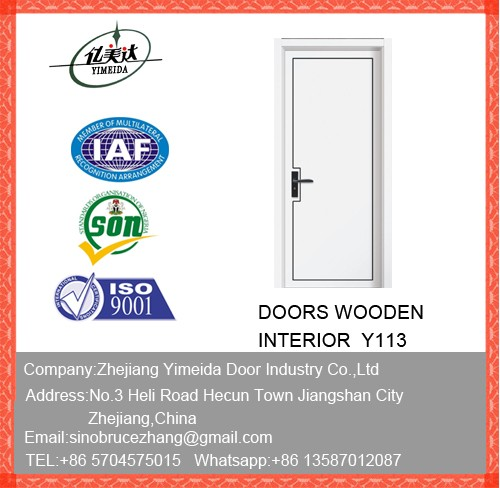 Painted Latest Wooden Main Door Design
