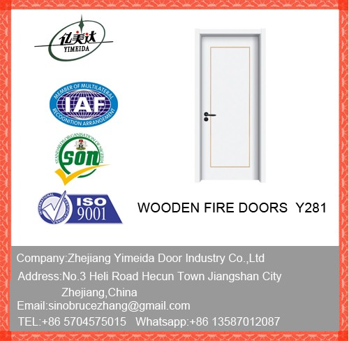 White Composite MDF Solid Core Doors For Home
