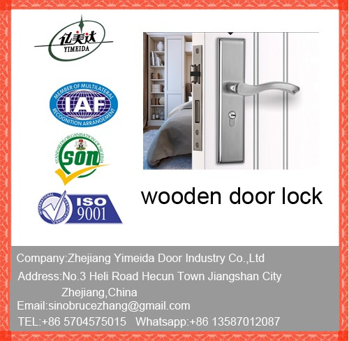 Wooden Door Lock