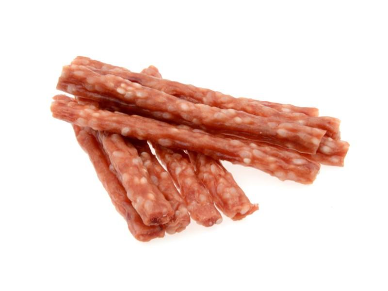 Snackfutter für Hundelamm und Reisstock