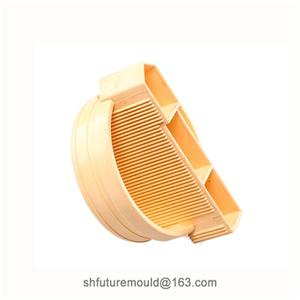 Custom Plastic Pipe End Cap Injection Molding Parts