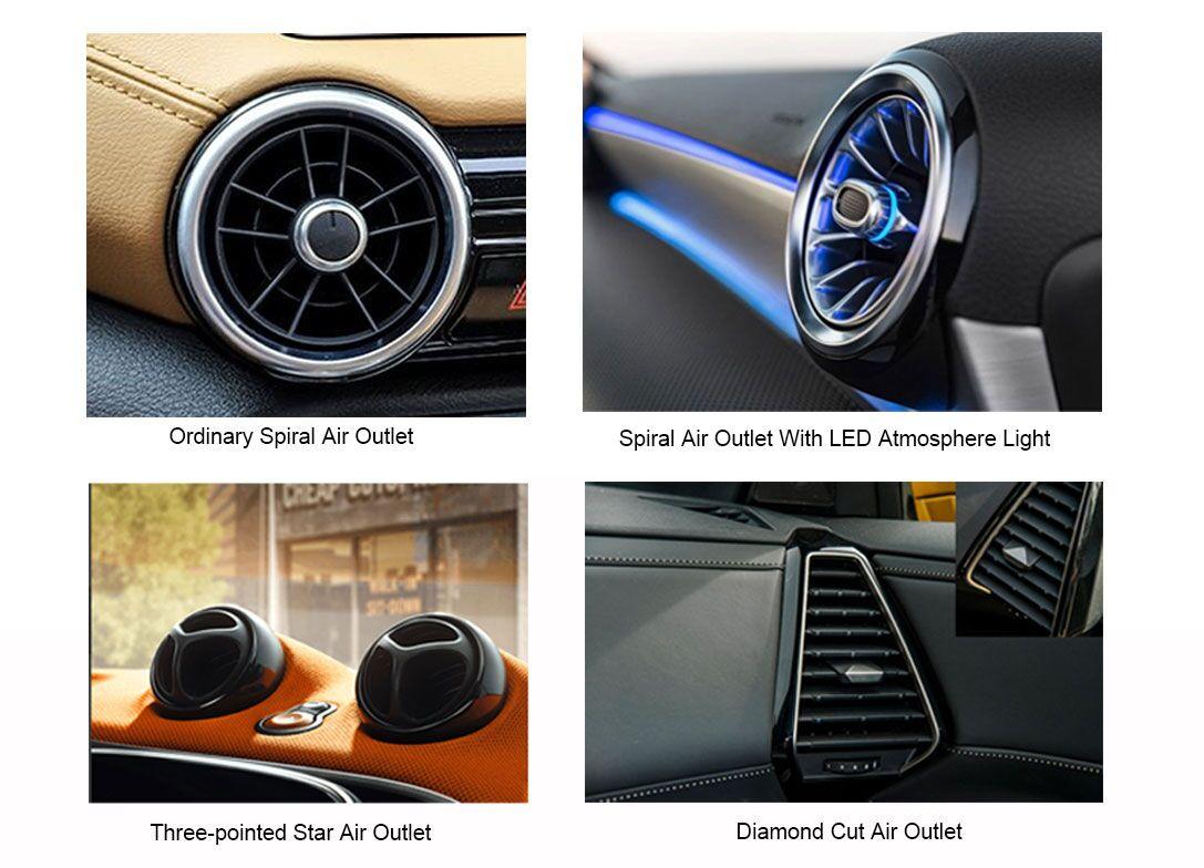 plastic auto air vent