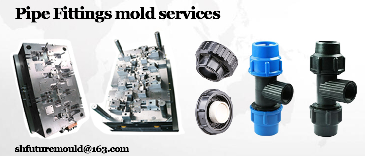 pipe connector injection mold
