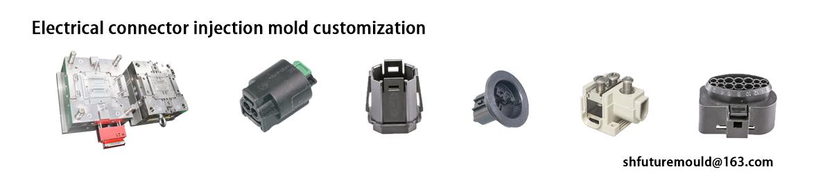 molde de injeção de conector elétrico