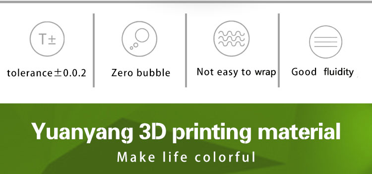 5kg PLA 3D printer filament supplier