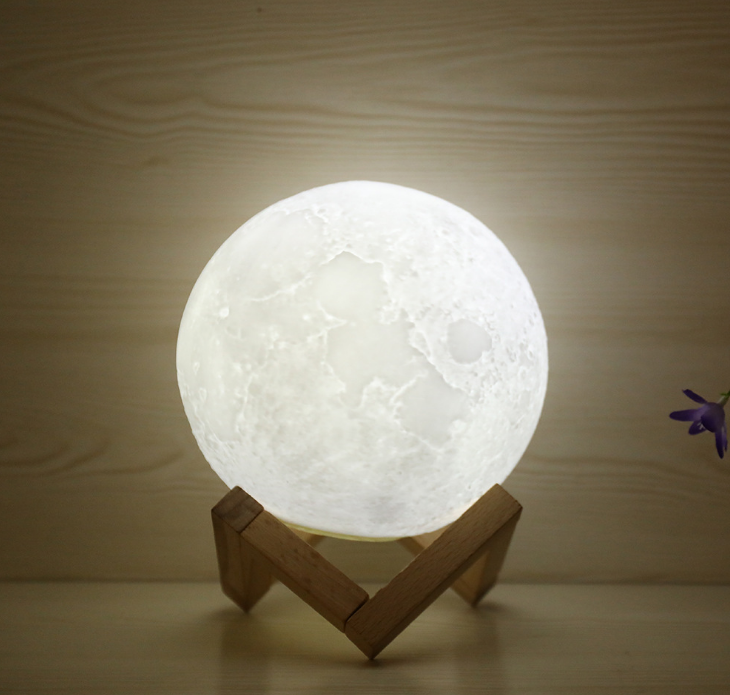Buy 3d printed lamp moon suppliers, China lamp moon bed head, Low price moon 3d printer