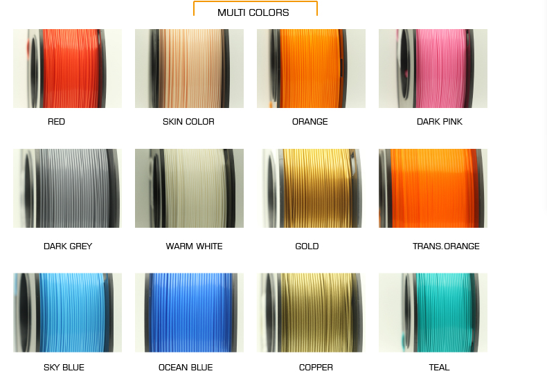 Supply carbon pla filament