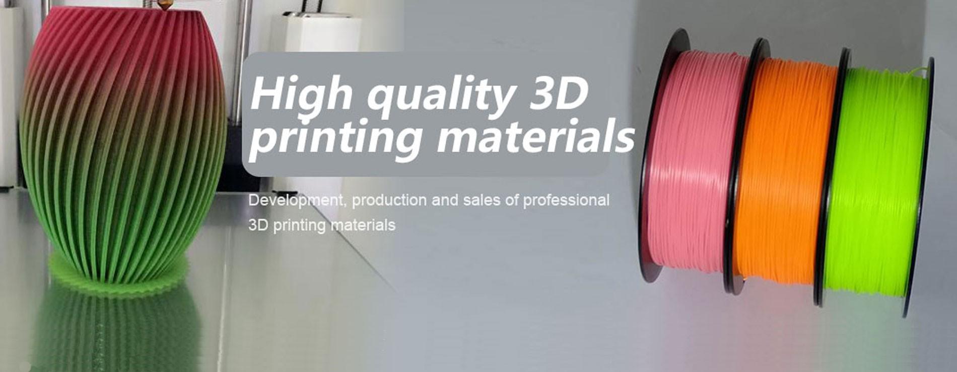 3D PLA Printing Materials