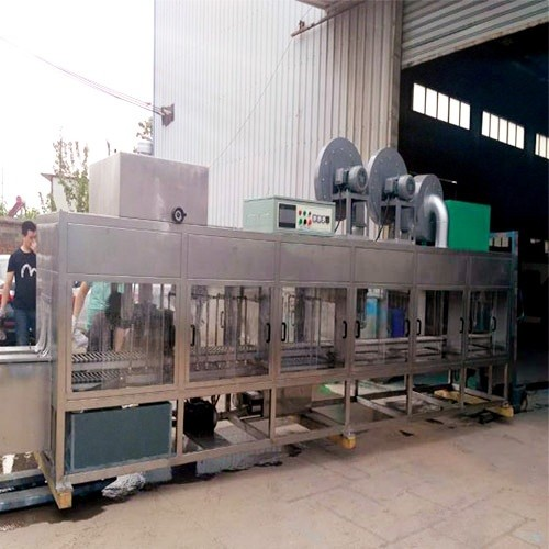Automatic Washing And Drying Machine For Battery