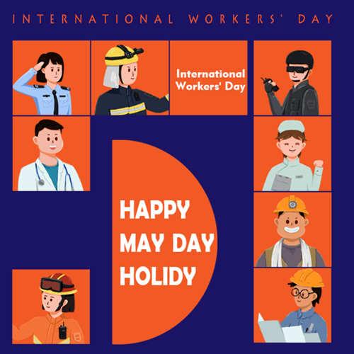 Hemos reanudado el trabajo y la producción después del Día del Trabajador.