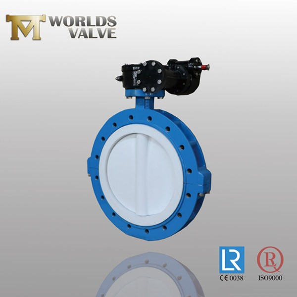 PFA Coating Disc U Sectietype Vlinderklep