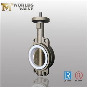 JIS EPDM Seated Bronze Pinless Wafer Butterfly Valve
