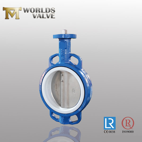 one shaft wafer butterfly valve