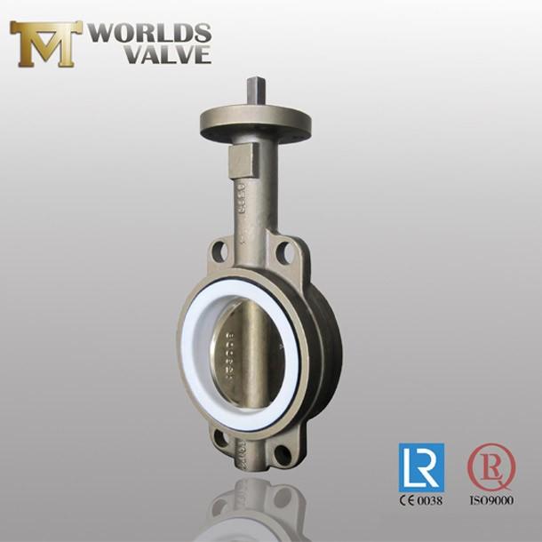 Aluminium Bronze C95400 Pinless Wafer Absperrklappe