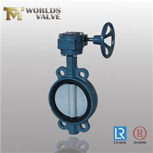 EPDM Rubber Vulcanized Wras Approval Butterfly Valve