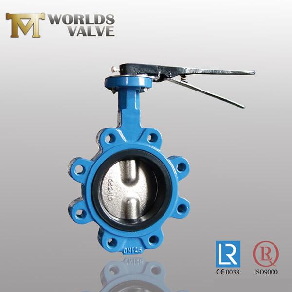DIN standard lug butterfly valve
