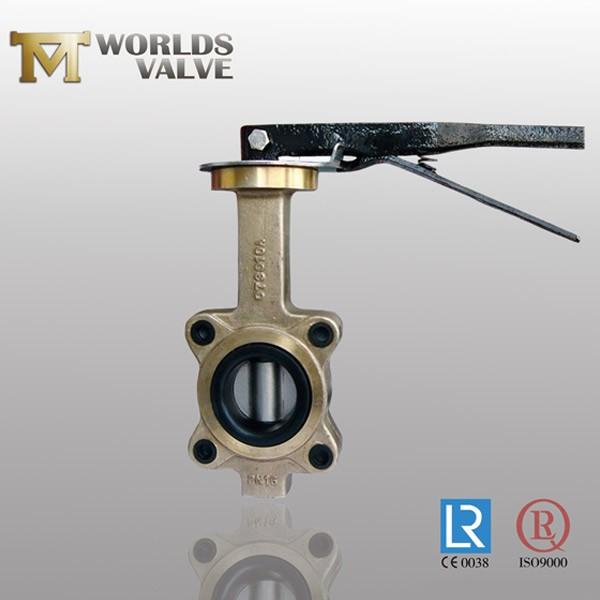 Aluminum Bronze C95400 Pinless Lug Butterfly Valve