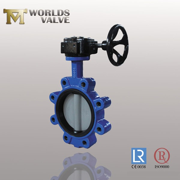 Epdm Rubber Vulcanized Wras Lug Butterfly Valve