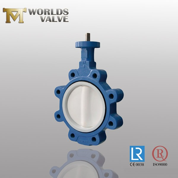 Eprm Lined Disc And Seated Api609 Lug Butterfly Valve