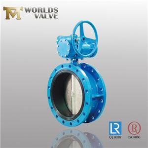API609 Resilient Seated Flanged Butterfly Valve