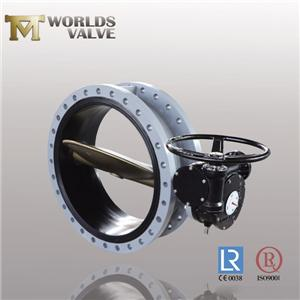 Jis EPDM Seat Bronze Pinless Flanged Butterfly Valve