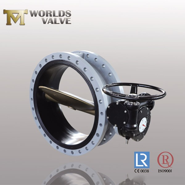 Bs Aluminum Bronze Two Shaft Flanged Butterfly Valve