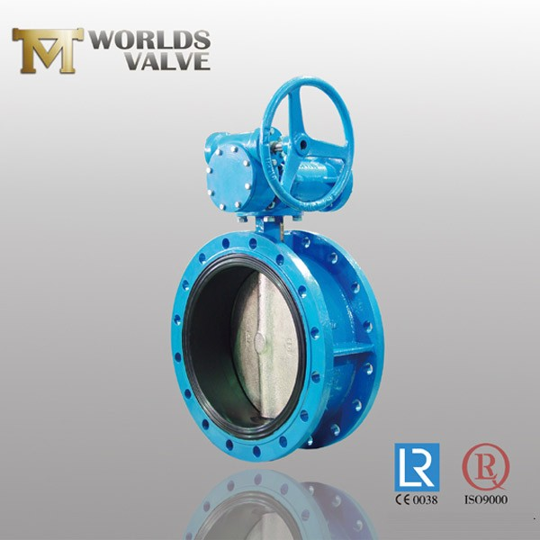 One Shaft Taper Pin Cast Iron Flanged Butterfly Valve