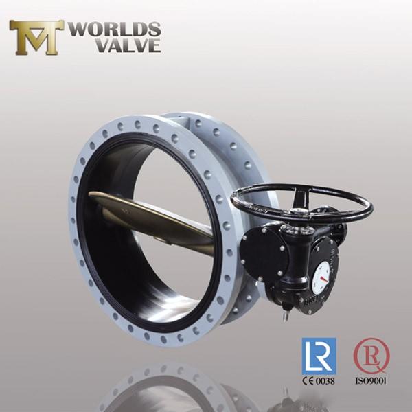 Aluminiumbronze C95400 Pinless Flansch Absperrklappe