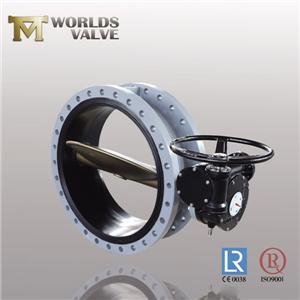 Nsf61 Approval Epdm Vulcanized Flanged Butterfly Valve