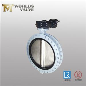 Epdm Rubber Bonded Acs Approval Flanged Butterfly Valve