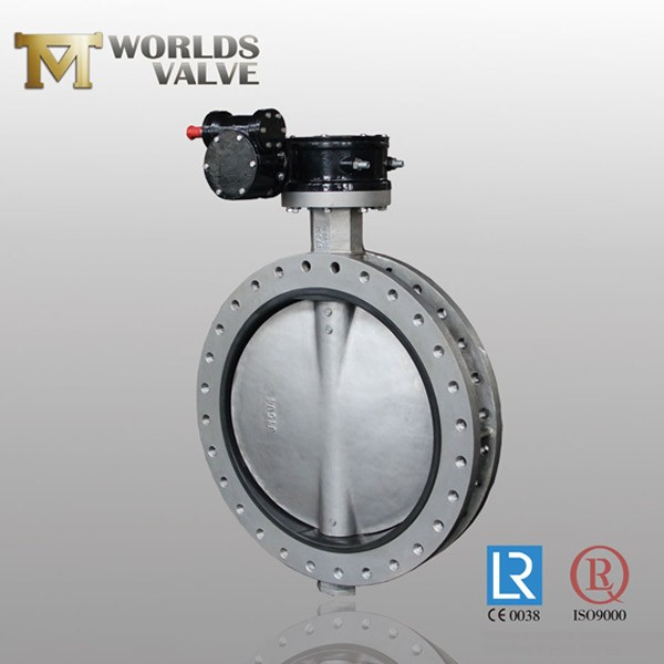Cf8m Stainless Steel Fkm Liner Usection Butterfly Valve