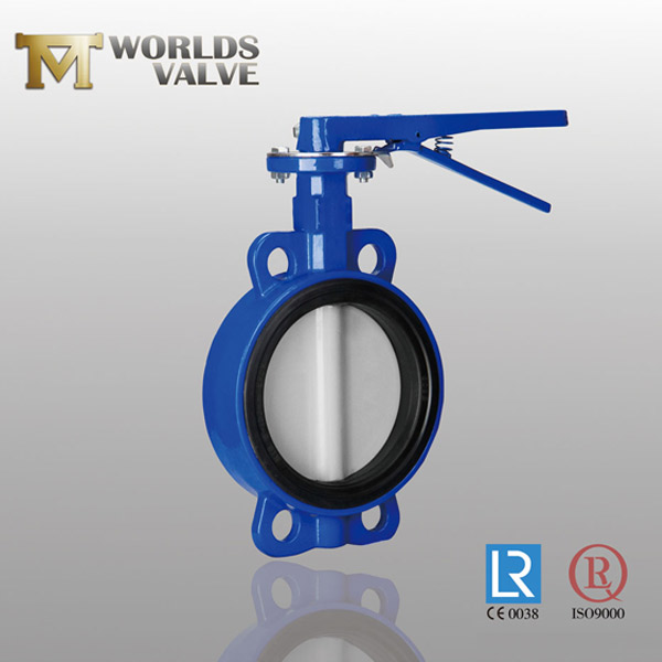 WRAS handle butterfly valve