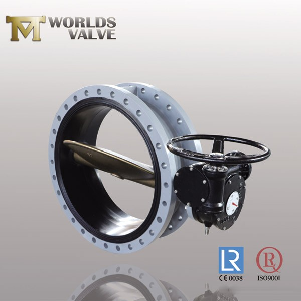Wras Approval Rubber Seal 304 Flanged Butterfly Valve